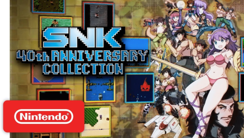 SNKゲームを多数収録した Switch向け「SNK 40th ANNIVERSARY COLLECTION」がリリース!日本語収録!!