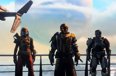 FPS「Destiny」 相変わらずSF感がハンパないスクリーンショット、新映像到着! すごすぎ・・・!!