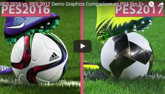 【動画】 「ウイニングイレブン 2017」 2017 vs 2016 グラフィック比較映像が公開!