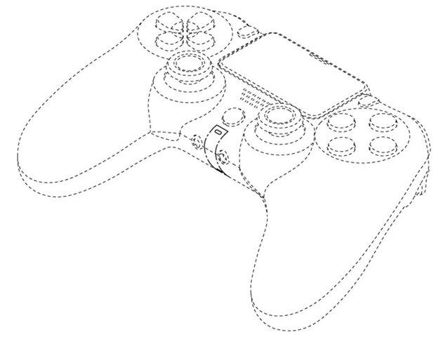 【速報】PS5のコントローラーと見られるSIEの意匠登録が公開!DS4とそっくり!!