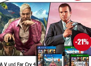 今週のUKチャートは「GTA V」が「Far Cry 4」と一騎打ち!次世代機ビッグタイトルの予想がつかない争い、勝ったのはどっち?