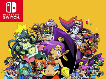 PS4/Switch「シャンティ:ハーフ・ジーニー ヒーロー アルティメットエディション」 国内発売日が5/24に決定、予約開始!!