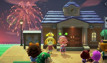 【悲報】識者「あつ森の花火大会やばい。爆発から音が聞こえるまで0.5秒はラグあるぞ!」