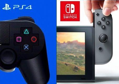 Switch独占→沢山ある PS4&Xbox One独占→ほとんど無い