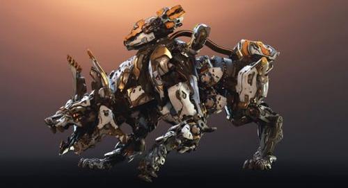 """「ホライゾンゼロドーン」  大型新DLC『凍てついた大地』 新たな解説映像が公開!炎を吐く新機械獣""""Scorcher""""ヤバすぎwwww"""