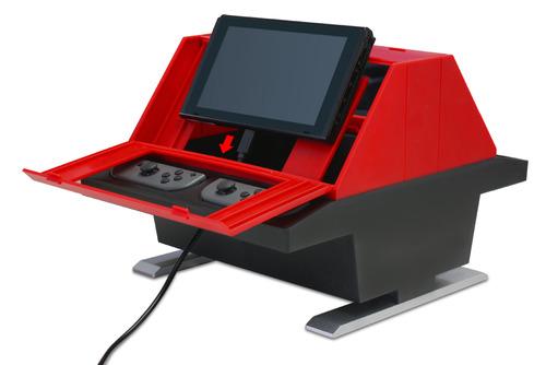 【速報】今度は対戦台だ! Nintendo Switch用「対面型アーケードスタンド」発売決定wwww