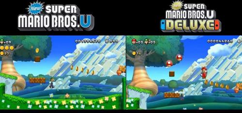 Switch「Newスーパーマリオブラザーズ U DX」とWii U版の比較映像が公開!けっこう進化してる?