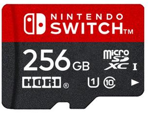 HORI「microSDカード for Nintendo Switch 256GB」を2018年5月に発売、予約開始!!