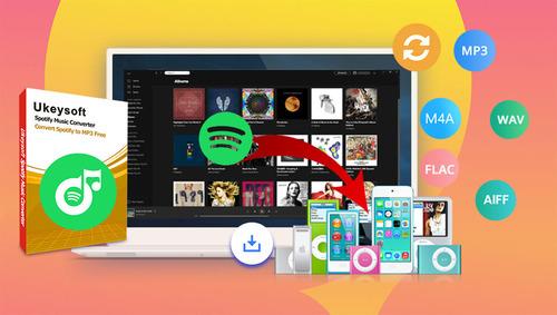 Spotifyの音楽をMP3形式等へ変換&ダウンロードできる『UkeySoft Spotify変換ソフト』!