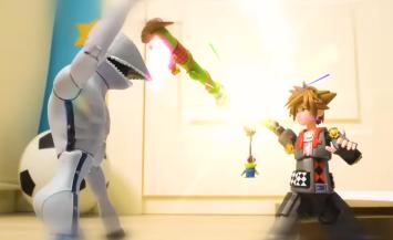 「キングダムハーツ3」ソラたちがトイボックススタイルで戦うストップモーションムービーが公開!
