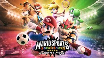 3DS「マリオスポーツ スーパースターズ」 発売日が3/30に決定!『サッカー』『ベースボール』など5競技を収録、ネットで世界中のプレイヤーと対戦!!
