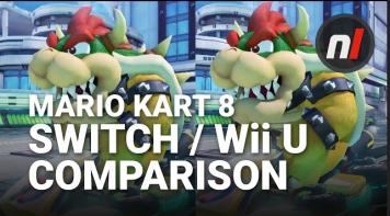 「マリオカート8 デラックス」 WiiU / スイッチ比較動画が公開!スイッチ版は当然のグラフィッククオリティアップ!!