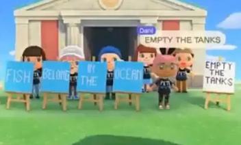 【悲報】動物愛護団体が「あつ森」に抗議 「魚を博物館の水槽に閉じ込める残虐行為やめろ」ゲーム内でデモを行う暴挙まで