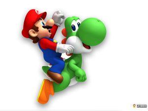 【悲報】任天堂「マリオはヨッシーをぶん殴って舌を出させてる」