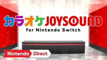 スイッチでもカラオケ、「カラオケJOYSOUND for Nintendo Switch」リリース決定きたあああぁぁぁ!13万曲以上を収録、家でも外でもいつでもカラオケ!!