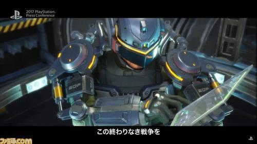 「地球防衛軍」シリーズ完全新作、「EARTH DEFENCE FORCE: IRON RAIN」が発表!