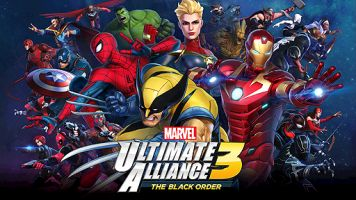 Switch「MARVEL ULTIMATE ALLIANCE 3」をダイマしてみる