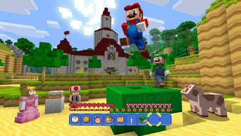 Minecraft-Super-Mario