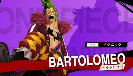 Switch/PS4「ワンピース海賊無双4」キャラクター紹介映像「バルトロメオ」が公開!