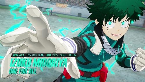 【悲報】PS4版「僕のヒーローアカデミア One's Justice2」まさかの圏外wwww