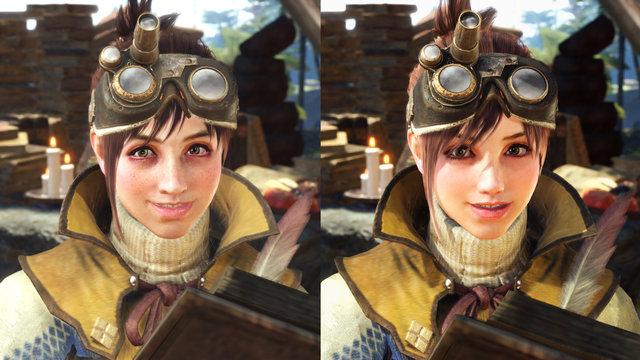 【朗報】MHWの受付嬢さん、テクスチャもモデルも取り替えられ非常に美しくなられる