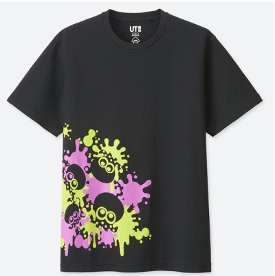 【ファン歓喜】ユニクロ、「スプラトゥーン」デザインのTシャツを4月22日に発売!値段もお手頃