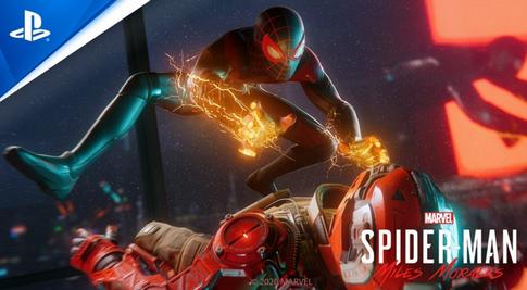 PS5のスパイダーマン新作「あえてフレームレートを落とす事で漫画の世界を再現しました」