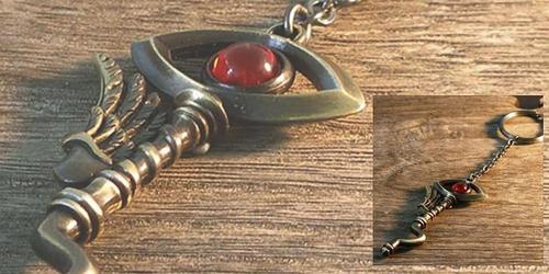 【レア】ドラクエの「さいごのカギ」をイメージしたシルバーネックレスが発売。価格は16800円