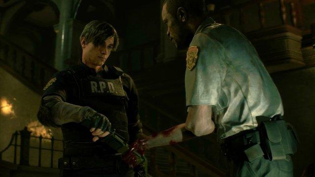 """【悲報】PS4「バイオハザード RE:2」 ではナイフは消耗品になると判明 """"武器は全て有限"""""""