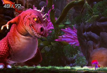 Wii U「ギアナシスターズ:ツイステッドドリームズ」 DL専売の新作ファンタジーアクションが登場、1500円で好評配信中