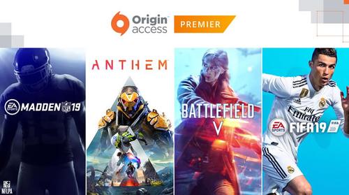 【特報】EA、最新作ゲーム(BF5、FIFA19、Anthemなど)が年1万円で遊び放題になる神サービス開始!!