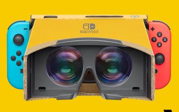 【衝撃】「ニンテンドーラボ VRキット」 やってみたら凄かった!本日発売、管理人レビュー