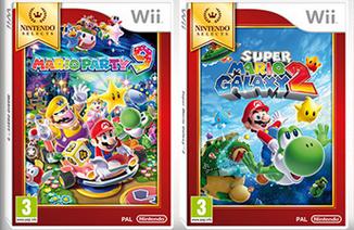 欧州任天堂、Wiiソフトの廉価版「Nintendo Selects」を拡充 『スーパーマリオギャラクシー2』など4タイトル!日本も欲しいぞ!!