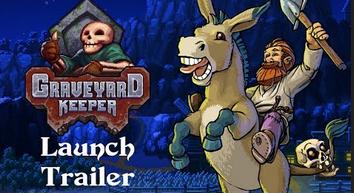 【悲報】Switch「Graveyard Keeper」話題の墓守生活ゲームが発売当日に完全版発売で通常版予約者発狂www