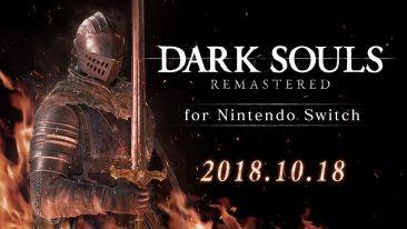 【速報】Switch「ダークソウル リマスタード」 発売日が10/18に決定!「amiibo 太陽の戦士 ソラール」も同時リリース
