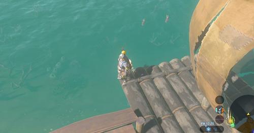 【驚愕】「ゼルダの伝説 ブレス オブ ザ ワイルド」、通常では見られない海中も造り込まれてた!!