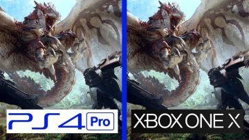 PS4「モンスターハンターワールド」PS4Pro/XboxOneX 版の比較動画が公開!まさかのPro優位?