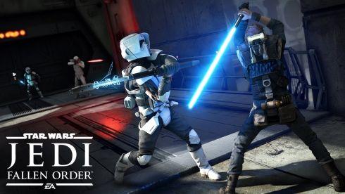 「スターウォーズ ジェダイ:フォールン・オーダー」初のゲームプレイデモが公開!フォースやライトセーバーを駆使したSF剣戟アクションに!!
