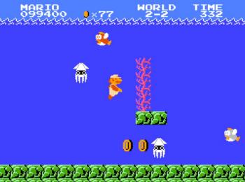 ゲームの水中ステージでおもしろいものは何一つない説