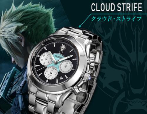 「FF7リメイク part1」の発売日決定を記念して腕時計を発売!値段は270000円!!