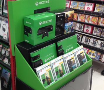 ゲオ XboxOneコーナーの扱いが衝撃的 (個人レビュー)