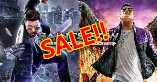 スパイク・チュンソフトが年に一度の大感謝祭セール!『セインツロウ4 』など最大90%オフ有名タイトルザクザク!!