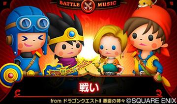 3DS「シアトリズム ドラゴンクエスト」 公式サイトが正式オープン!デフォルメ化されたDQキャラたちやシステム情報をわかりやすく紹介!!