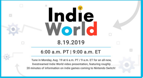 【速報】Nintendo Indie Direct 2019.8.19