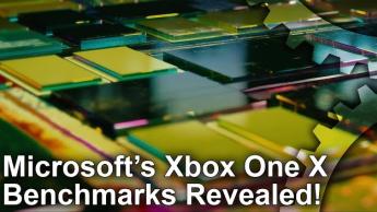 【速報】Xboxone Xのベンチマークが公開!ネイティブ4Kはほぼインディーズのみ?