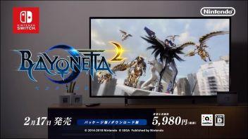 Switch「ベヨネッタ2」WebCMが公開!