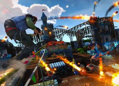Xbox One独占「サンセット オーバードライブ」 は10/30発売決定!クリエーションゲーム「プロジェクトスパーク」は10/9!!
