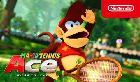【朗報】Switch「マリオテニスエース」に『ディディーコング』参戦決定きたああぁぁぁっ!!
