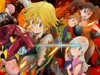 アニメ「七つの大罪」が3DSでゲーム化決定!アクションアドベンチャーに!!