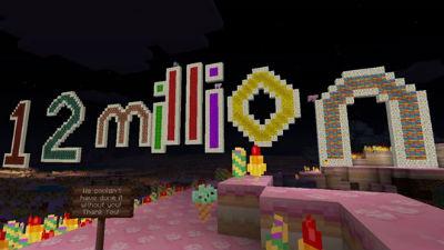 Xbox 360版「マインクラフト」 売り上げ1200万本突破! めちゃくちゃ遊ばれてる~